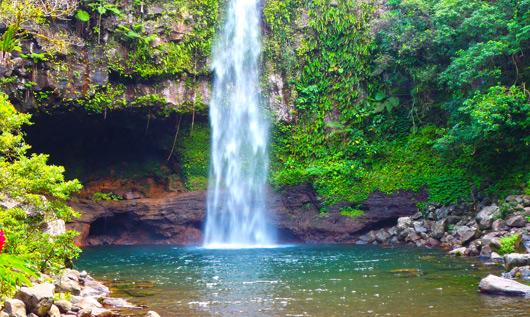 Bouma National Heritage Park, Taveuni Island - jordan road